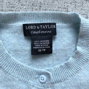 Lord & Taylor 100% CASHMERE 5 Sweater Bundle, XS/S